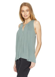 Lucky Brand Women's Cutout Tunic TOP  XL