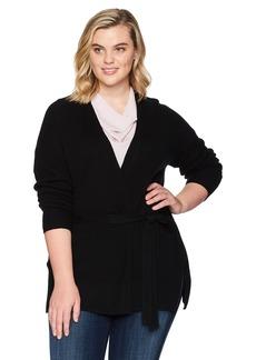 Lucky Brand Women's Darcey Cardigan Plus-Size Sweater