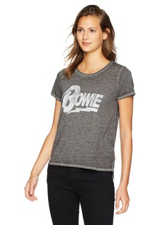 Lucky Brand Women's David Bowie TEE Black XL