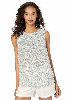 Lucky Brand Women's Ditsy Print Tank TOP  S