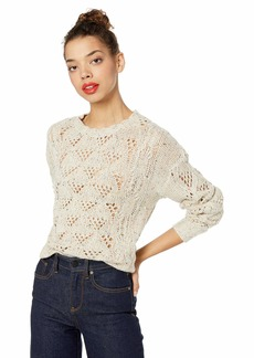 Lucky Brand Women's Donegal NEP Pullover Sweater  XS