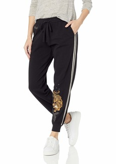 Lucky Brand Women's Dragon Tiger Track Pant  S