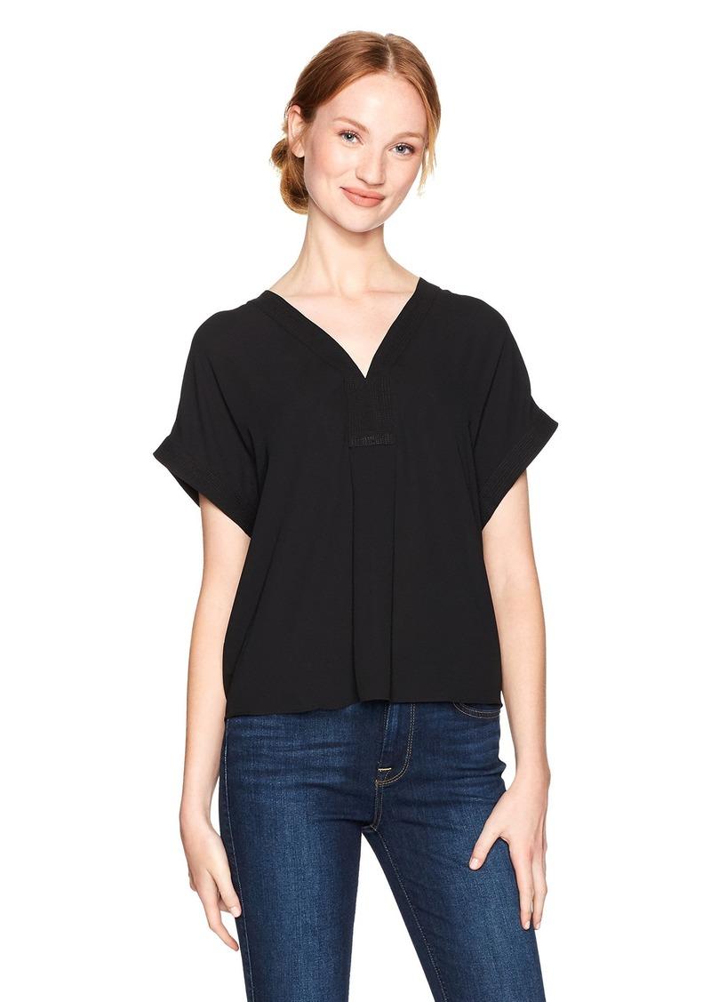 Lucky Brand Women's Draped Shirt in