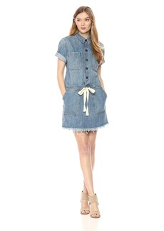 Lucky Brand Women's Drawstring Dress  S