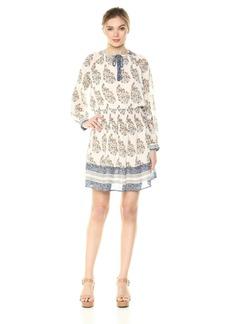 Lucky Brand Women's Drop Waist Printed Dress in  S