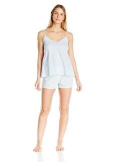 Lucky Brand Women's Embroidered Cami Set