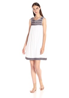 Lucky Brand Women's Embroidered Dress