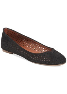 Lucky Brand Women's Enorahh Perforated Flats Women's Shoes