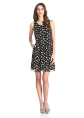 Lucky Brand Women's Exploded Dot Dress