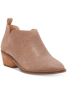 Lucky Brand Women's Fayth Ankle Boots Women's Shoes