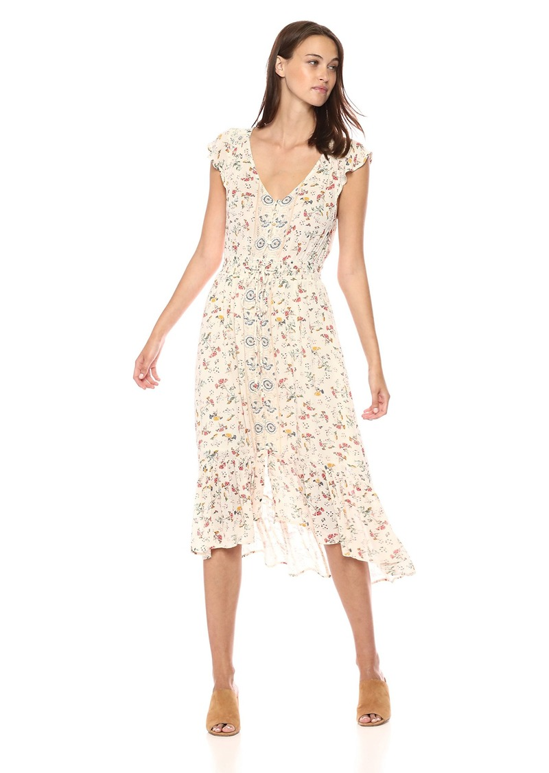 Lucky Brand Women's Felice Floral Dress in  S