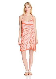 Lucky Brand Women's Fireworks Tie Dye Dress Cover Up