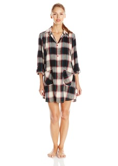 Lucky Brand Women's Flannel Sleepshirt
