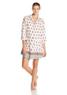 Lucky Brand Women's Flannel Sleepshirt