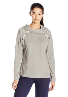 Lucky Brand Women's Fleece Jersey Lounge Hoodie