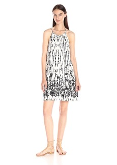 Lucky Brand Women's Floral Embroidered Dress