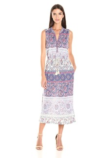 Lucky Brand Women's Floral Mixed Print Dress