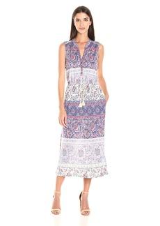 Lucky Brand Women's Floral Mixed Print Dress