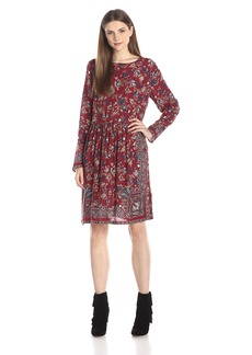 Lucky Brand Women's Floral Paisley Dress