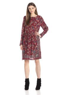 Lucky Brand Women's Floral Paisley Dress
