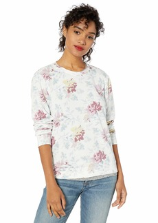 Lucky Brand Women's Floral Printed Sweatshirt  XL