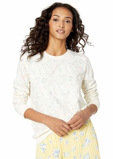 Lucky Brand Women's Floral Pullover Sweater  L
