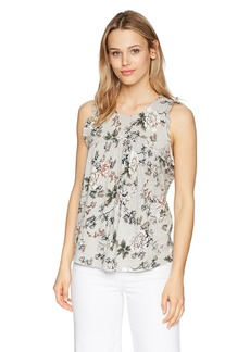 Lucky Brand Women's Floral Tank TOP  XL