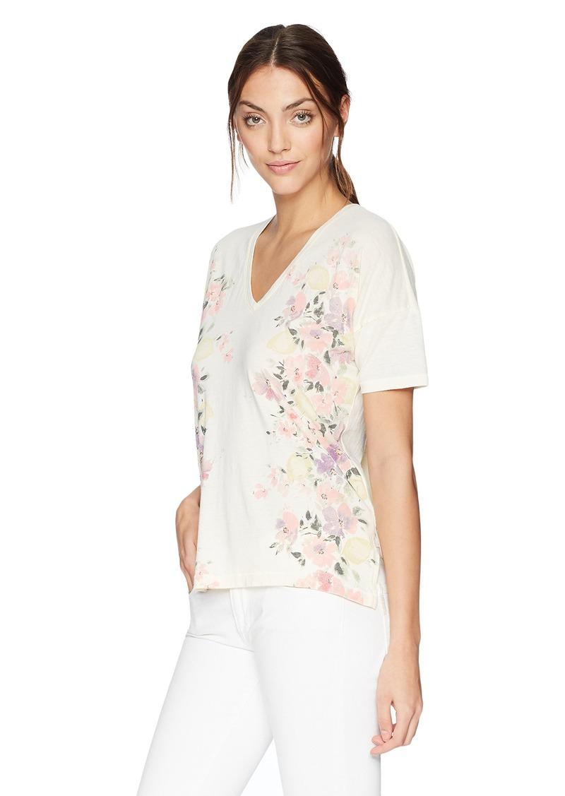 53e6650e7d9 Lucky Brand Lucky Brand Women's Floral Tee XL | Tees