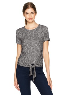 Lucky Brand Women's Front Tie Top
