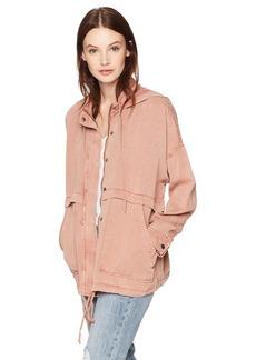 Lucky Brand Women's Full Zip Hooded Jacket  XS