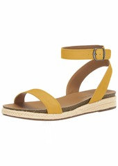 Lucky Brand Women's GARSTON Espadrille Wedge Sandal   M US