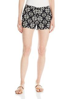 Lucky Brand Women's Geo Embroidered Short