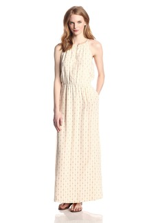 Lucky Brand Women's Geo Printed Maxi Dress