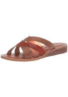 Lucky Brand Women's HALLISA Flat Sandal   M US