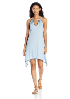 Lucky Brand Women's Hazy Days Shark Bite Swing Dress Cover up  S