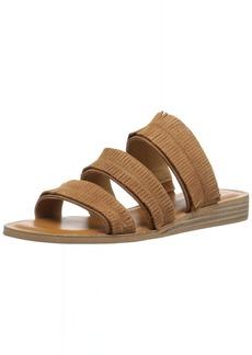 Lucky Brand Women's Hegen Flat Sandal   M US