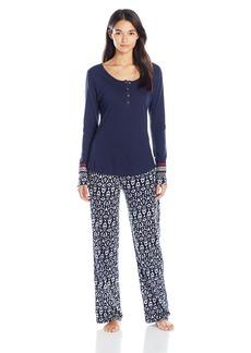 Lucky Brand Women's Henley Pajama