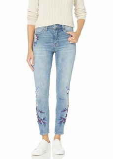 Lucky Brand Women's HIGH Rise Embroidered Bridgette Skinny Jean in MAE Ridge  (US 4)