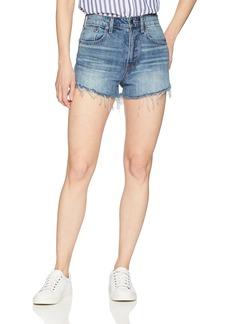 Lucky Brand Women's High Rise Lucky Pins Jean Short