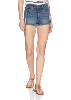 Lucky Brand Women's HIGH Rise Shortie Jean Short in SACATON