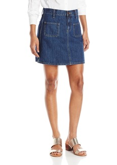 Lucky Brand Women's High-Waisted Mini Skirt