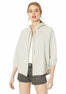 Lucky Brand Women's Hooded Poncho Sweatshirt  XS