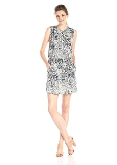 Lucky Brand Women's Ikat Haze Dress  Large