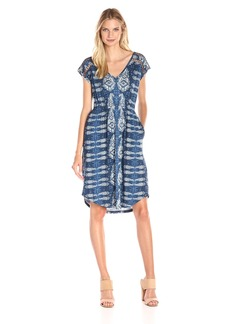 Lucky Brand Women's Inset Lace Dress