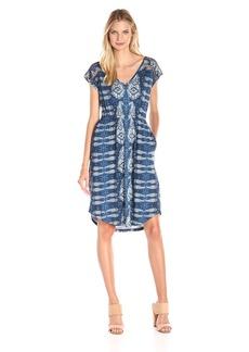 Lucky Brand Women's Inset Lace Dress