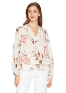 Lucky Brand Women's Jenna Peasant TOP in  XS