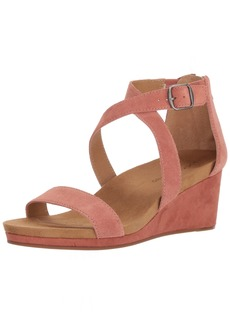 Lucky Brand Women's Kenadee Wedge Sandal