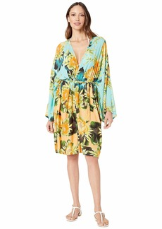 Lucky Brand Women's Kimono Swimsuit Cover-Up  M/L