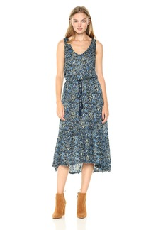 Lucky Brand Women's Knit Jacquard Dress