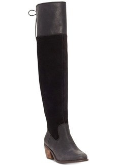 Lucky Brand Women's Komah Over-The-Knee Boots Women's Shoes